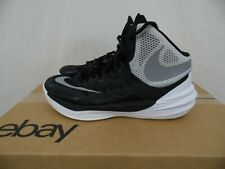 Nike Prime Hype DF II Basketball Shoes 811053-001 Mens 7.5 M - BLACK & WHITE