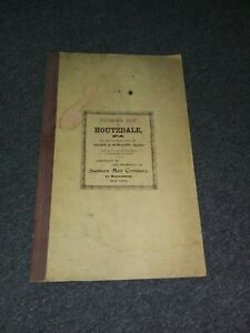 HOUTZDALE, CLEAREFIELD COUNTY, PENNSLVANIA 1904 SANBORN MAP- GREAT REFERENCE!!