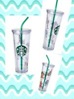 STARBUCKS Disney Parks Disney World VENTI Tumbler with Straw 24oz MAGIC KINGDOM