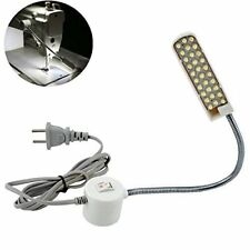 LED Sewing Machine Light Working Gooseneck Lamp 30 Leds, with Magnetic Mounting