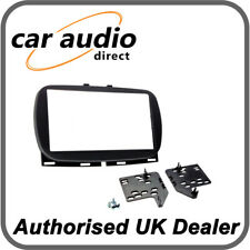 Connects2 CT23FT34 Fiat 500 2017> Black Double DIN Fascia
