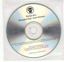 (FE552) Rufige Kru, Shanghai Dub / Ever Wanted - 2009 DJ CD