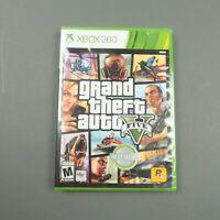 Grand Theft Auto V 5 GTA Xbox 360 Factory Sealed