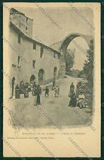Pisa Montopoli Val d'Arno cartolina QQ3247