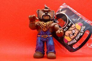 Bad Taste Bears - Mr. BTB - Rare Collectible BTB Keychain Figurine Mr T A-Team