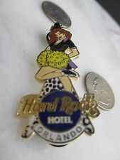 Hard Rock Hotel Orlando Sexy Redhead Cheerleader 2005 pin!  Limited Edition-300!