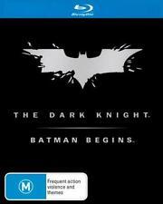 THE DARK KNIGHT / BATMAN BEGINS : NEW Blu-Ray