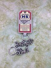 "Herm Sprenger Metal Choke Chain 12"" Fine 2.0mm"