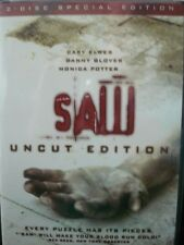 Saw (DVD, 2005, Uncut Edition) WORLDWIDE SHIP AVAIL