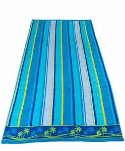 100% Cotton Extra Large Beach Towel Bath Sheet - Various Designs