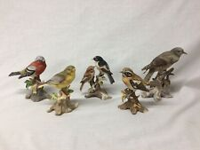 5 x Maruri Bird Ornaments Whinchat Chaffinch Cuckoo Green Finch Pied Flyca #G478