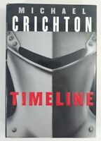 TIMELINE by Michael Crichton (HC/DJ, 1999) First Trade Edition