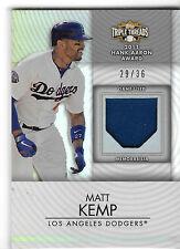 2012 Topps Triple Threads Matt Kemp Game Used Raw 29/36 L.A. Dodgers