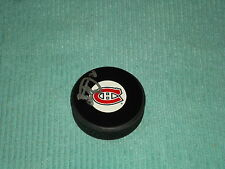 Peter Budaj Hand Signed Montreal Canadiens Puck NHL