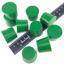 "(10) 1.031"" x 1.25"" #6 High Temp Silicone Rubber Powder Coating Plugs Cerakote"