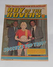 ROY OF THE ROVERS COMIC 23RD MAY 1981 GORDON STRACHAN OF ABERDEEN