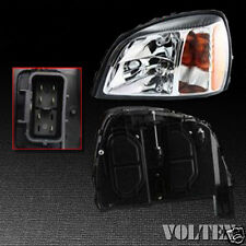 2000-2002 Cadillac DeVille Headlight Lamp Clear lens Halogen Left Side