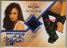 2011 BENCHWARMER HIGH HEEL AUTO: MARIA KANELLIS #2/5 HOT FOR TEACHER AUTOGRAPH