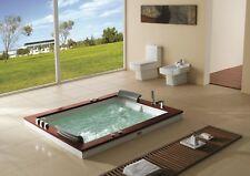 Whirlpool Badewanne 180x150 Luft+Wasser Heizung #666