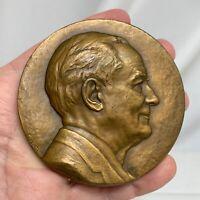1966 Harrison Tweed Bronze Medal Eleanor Platt Medallic Art  - 81271