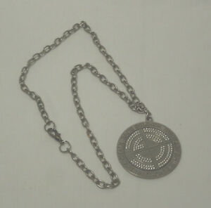 2005 WWE JOHN CENA REPLICA CHAIN GANG SOLDIER SPINNER PENDANT WITH CHAIN RARE