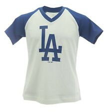 LA Los Angeles Dodgers Official MLB Genuine Kids Youth Girls Size T Shirt New