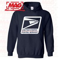 USPS LOGO POSTAL HOODIE Employee Sweatshirt United States US Post Office Service