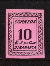 CUNDINAMARCA LOCAL BOGUS PHANTOM STAMP,COLOMBIA,MENTIONED IN MELVILLE