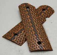 77_9027orgb SALE 1911 Govt Larry Davidson Shredder Magwell G10 Grips