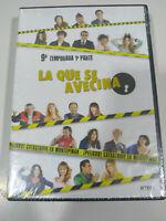 La che Si Avvicina Novena Stagione Parte 1 - 5 X DVD Spagnolo Nuovo - 3T