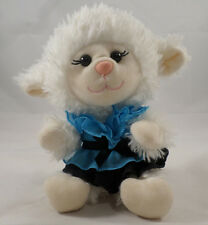 "Build A Bear Lamb Sheep Smallfrys Plush Babw Cream Color With Outfit 7"" 2011"