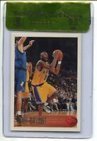 1996 96 Topps Basketball #138 Kobe Bryant Rookie Card RC Graded BGS Gem Mint 9.5