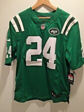 NEW Darrelle Revis New York Jets Nike Green Color Rush Limited Stitched Jersey