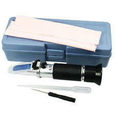 Portable Beer Wort and Wine Refractometer Dual Scale - Specific Gravity and Brix