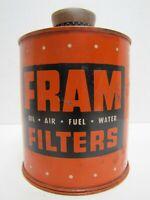 FRAM FILTERS Old CIGAR LIGHTER OIL AIR FUEL WATER Sign Repair Shop Gas Station