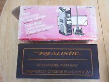 Realistic Road Emergency 2-Way Cb Radio Trc-412