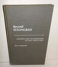 BOOK Beyond Stalingrad Manstein Army of the Don November 1942 to March 1943 op