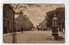 HIGH STREET, CROMARTY: Ross-shire postcard (C23764)