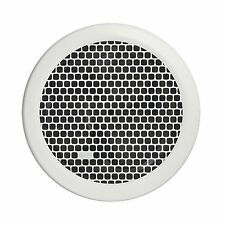 HPM EF200RDWE EXHAUST FAN KIT Strong Air Extraction Round HoneyComb WHITE -200mm