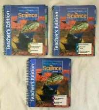Houghton Mifflin SCIENCE 2007 4th Grade 4 UNITS A B C D E F TEACHERS EDITION lot