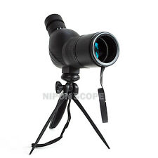 12-36x50A compact spotting scope. 12x-36x magnification. Twist-up eyecup