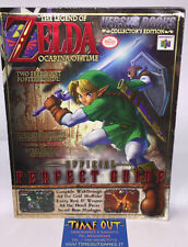 THE LEGEND OF ZELDA OCARINA OF TIME OFFICIAL PERFECT GUIDE VERSUS BOOKS