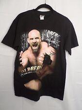 1998 WCW Bill Goldberg #1 Graduate Of Black T Shirt FIRST SHIRT M WWE Wrestling