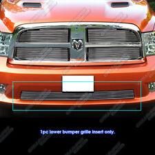 Fits 2009-2012 Dodge Ram 1500 Sport/Express Bumper Billet Grille Grill 10 11