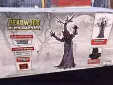 Halloween LifeSize Animated HAUNTED DEADWOOD TREE Animatronic Prop Haunted House