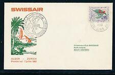 86332) Schweiz, SR FF Algier - Genf 1.Post mit SST 7.7.63, SLH 20CHF