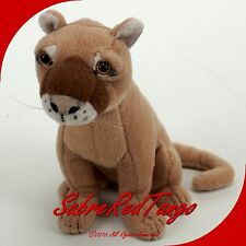"DEFENDERS OF WILDLIFE STUFFED ANIMAL 7"" MOUNTAIN LION"