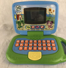 LEAPFROG MY OWN LEAPTOP LEARNING INTERACTIVE LAPTOP COMPUTER GREEN Works Exc!