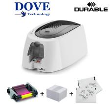 Duracard Durable ID 300 Card Printer - White. (Less than 250 Cards Printed)