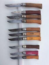 Lot N°3 Couteaux Opinel (knife) - Très mauvais état général !
